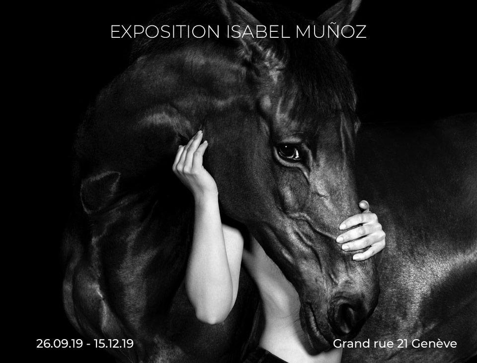 Exposition Isabel Muñoz - Genève
