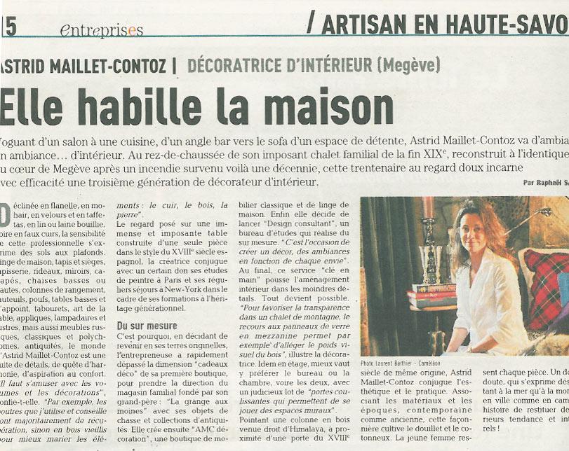 Dauphiné Entreprise - Mai 2009