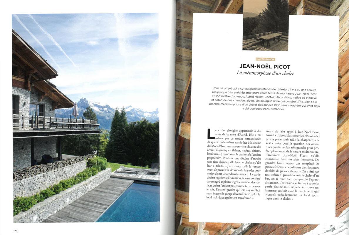 Habiter la montagne - Chalets et maisons d'architectes