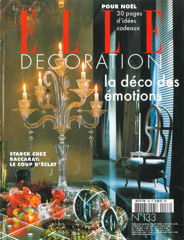 Elle Decoration - Dec 2003