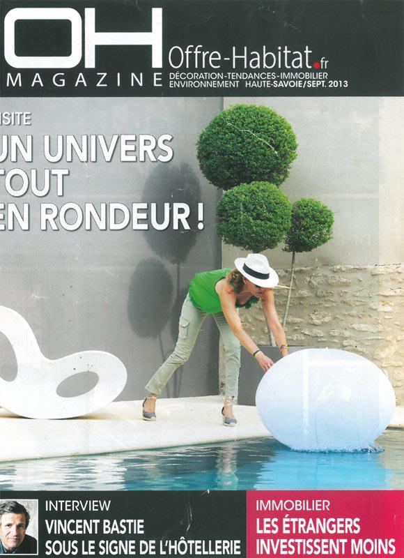 Oh Magazine - Septembre 2013