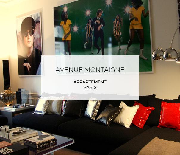 Projet Avenue Montaigne Paris